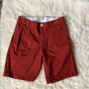 Oliver Spencer Cotton Bermuda  Shorts